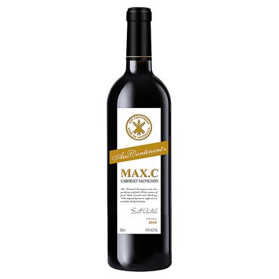 澳大利亚南澳产区澳洲大陆酒庄三把矛系列赤霞珠MAXC干红葡萄酒