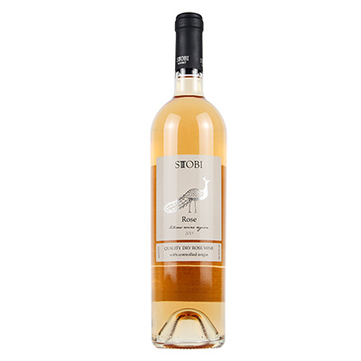 北马其顿斯多比酒庄韵丽梅洛A级桃红葡萄酒