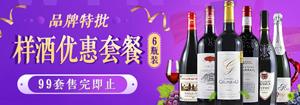 【品牌特批】样酒优惠组合套餐6瓶装