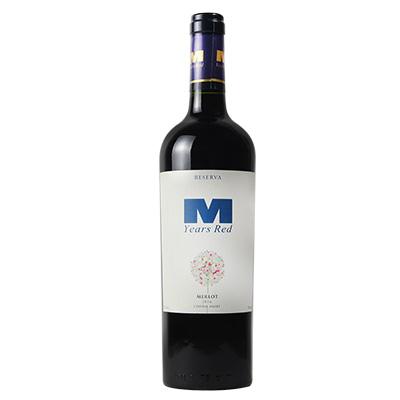 曼年红·梅洛干红葡萄酒