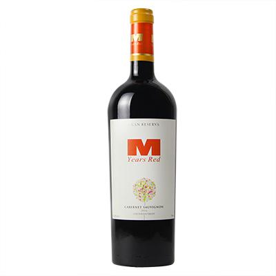 智利空加瓜谷希赫酒庄曼年红·赤霞珠特级珍藏级干红葡萄酒