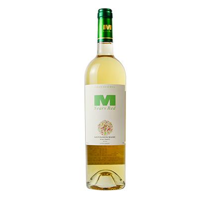 智利空加瓜谷希赫酒庄曼年红·长相思特级珍藏半甜白葡萄酒