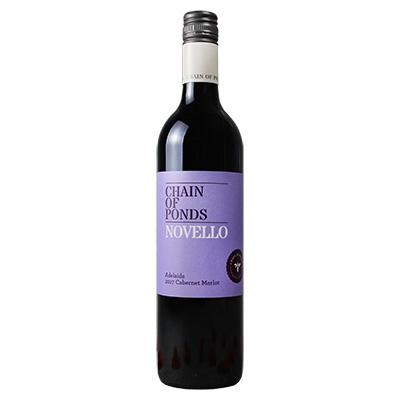 澳大利亚阿德莱德庞德酒庄赤霞珠梅洛诺威紫标干红葡萄酒