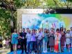 第七届上海(静安)国际起泡酒节活动在静安公园举办