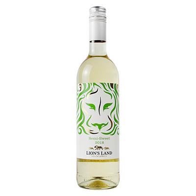 金狮园半甜白葡萄酒