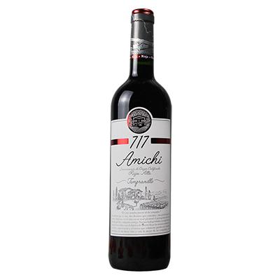 西班牙里奥哈巴厘欧兄弟酒联盟庄园添普兰尼洛阿米奇 717Doca Joven干红葡萄酒