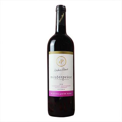 澳大利亞安德魯皮士酒莊皮士大師 赤霞珠小維多干紅葡萄酒紅酒