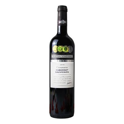 澳大利亚库纳瓦拉伯顿酒庄赤霞珠珍藏干红葡萄酒