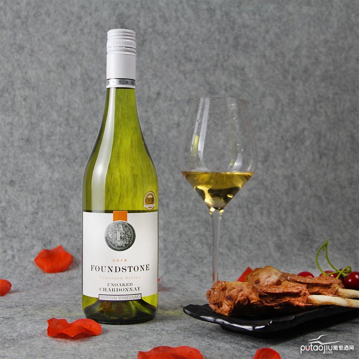 澳大利亚东南澳伯顿酒庄霞多丽干白葡萄酒
