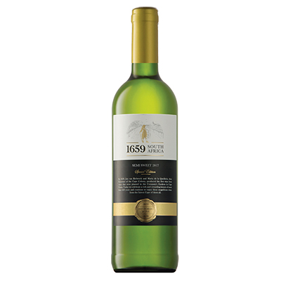 南非西開普獵豹酒莊1659白詩南密斯卡岱半甜白葡萄酒