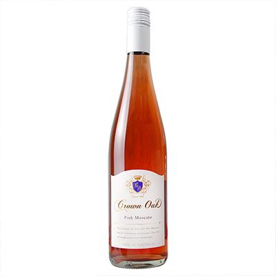 澳大利亚南澳皇冠金橡莫斯卡托桃红甜葡萄酒