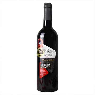 澳大利亚格兰纳特贝尔巴伦丁酒庄晚红蜜干红葡萄酒