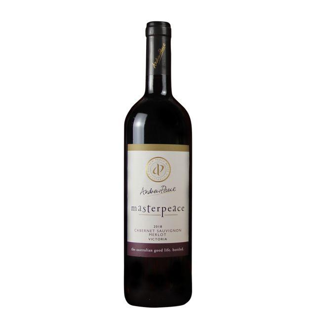 澳大利亚维多利亚安德鲁皮士酒庄亚皮士大师赤霞珠梅洛干红葡萄酒