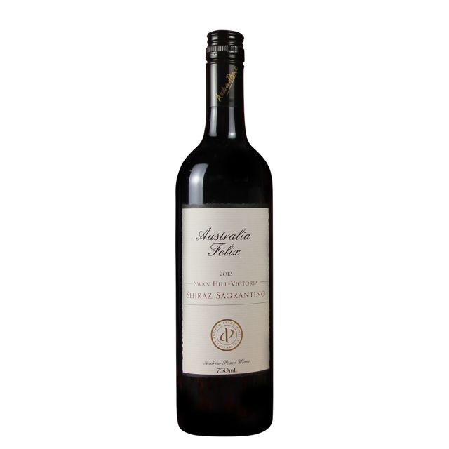 澳大利亚维多利亚安德鲁皮士酒庄菲利斯西拉子沙朗提诺干红葡萄酒