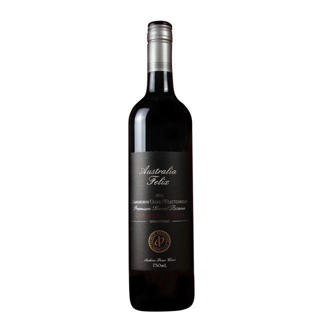 澳大利亚南澳安德鲁皮士酒庄菲利斯赤霞珠西拉浪虹小溪拉顿布里干红葡萄酒