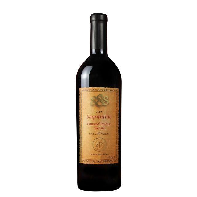 澳大利亚维多利亚安德鲁皮士酒庄萨格兰蒂诺888限量版干红葡萄酒