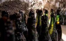 法国宝禄爵酒庄挖掘出120多年前的香槟酒