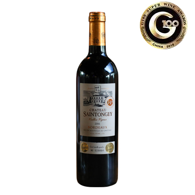 法国波尔多盛桐阁城堡混酿老藤AOC干红葡萄酒