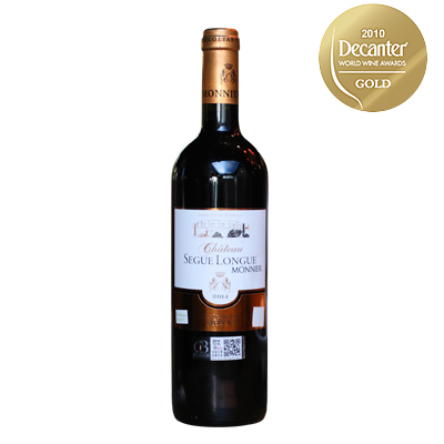 法国波尔多赛格莫尼城堡混酿AOC干红葡萄酒