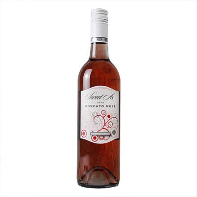 澳大利亚东南澳伯顿酒庄莫斯卡托桃红甜葡萄酒
