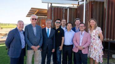 都度酒庄|南澳洲总督为都度酒庄澳洲品鉴中心揭牌并致辞