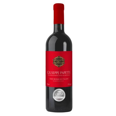 意大利艾米利亚万多酒庄混酿宝隆精选干红葡萄酒