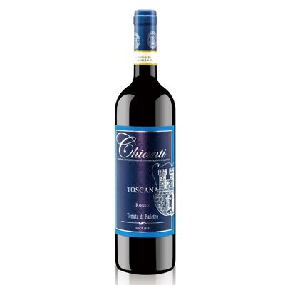 意大利托斯卡纳帕雷特罗酒庄桑娇维塞黑卡内奥罗基安蒂DOCG干红葡萄酒