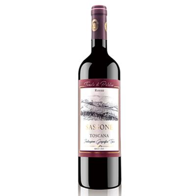 意大利托斯卡纳帕雷特罗酒庄混酿撒索尼IGT干红葡萄酒