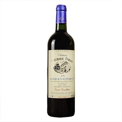 法国波尔多巴兰庄园品丽珠赤霞珠梅洛AOC干红葡萄酒