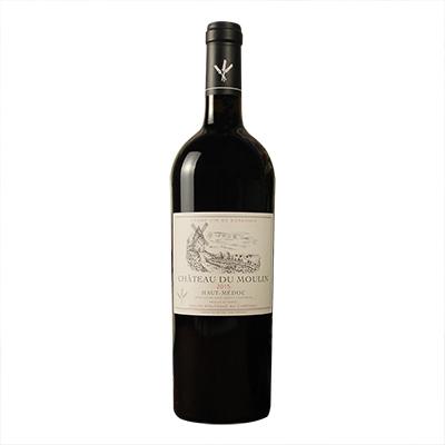 法国波尔多上梅多克穆兰庄园赤霞珠梅洛AOC干红葡萄酒
