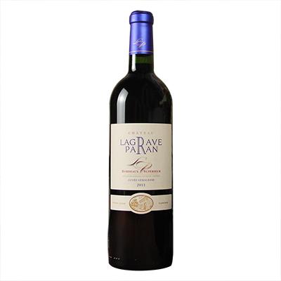 法国波尔多巴兰庄园品丽珠赤霞珠梅洛干红葡萄酒