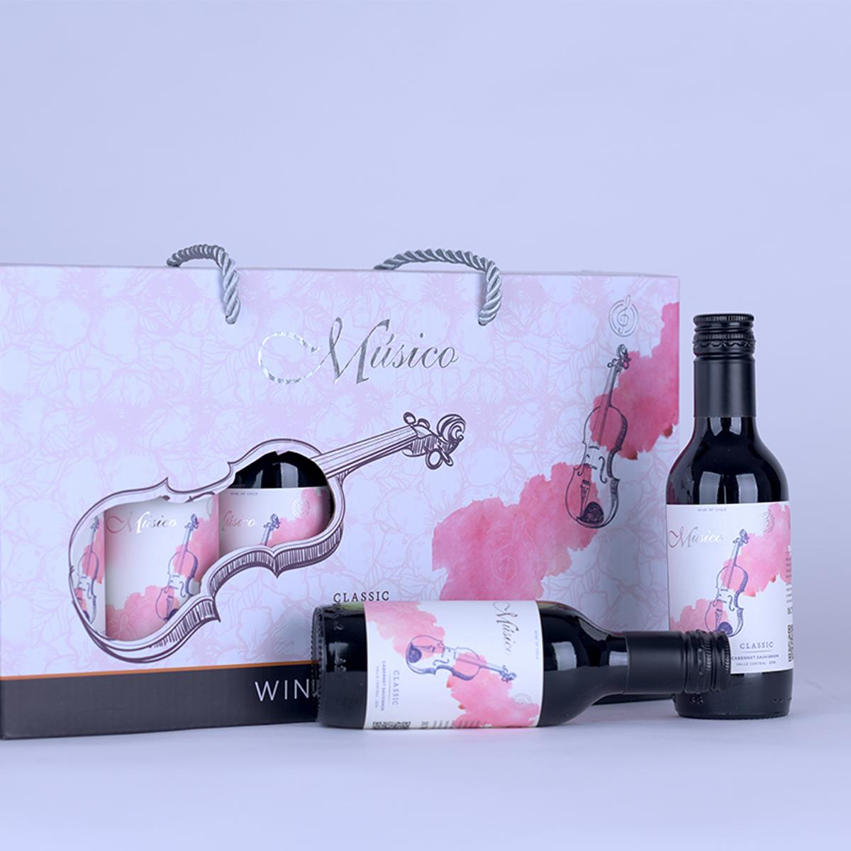 智利中央山谷Musico酒莊音樂家迷你小提琴赤霞珠紅葡萄酒