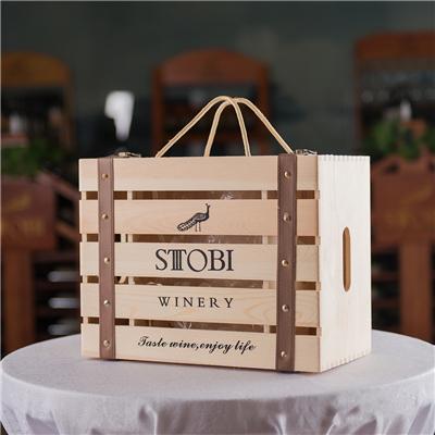 高端木制酒盒