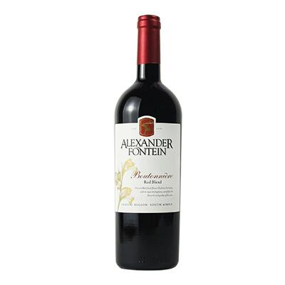 南非沿海地区奥曼迪酒庄亚历山大芬汀宝登利混酿干红葡萄酒