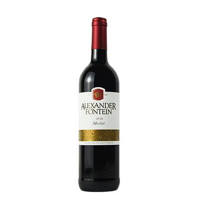 南非沿海地区奥曼迪酒庄梅洛亚历山大芬汀干红葡萄酒