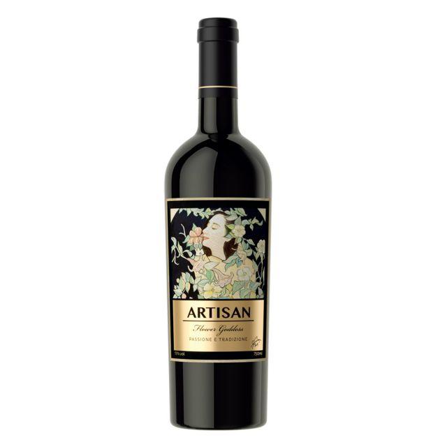 意大利托斯卡纳卡斯特拉尼酒庄桑娇维塞阿提山花神干红葡萄酒
