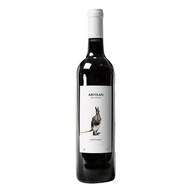 澳大利亚阿德莱德 Pacific Vintners西拉阿提山水墨干红葡萄酒