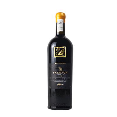 澳大利亞蘭好樂溪撒克遜酒莊西拉金天鵝干紅葡萄酒