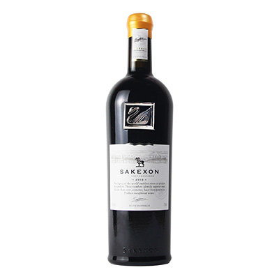 澳大利亞蘭好樂溪撒克遜酒莊赤霞珠銀天鵝干紅葡萄酒