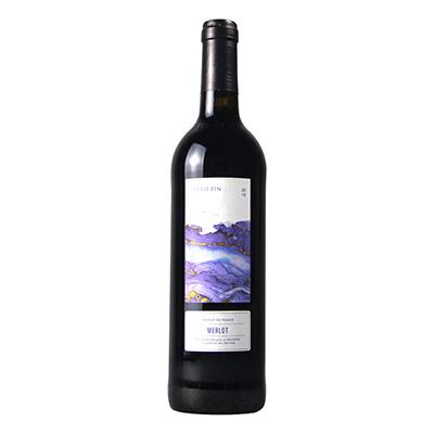 法國奧克地區松谷莊小松樹梅洛IGP干紅葡萄酒