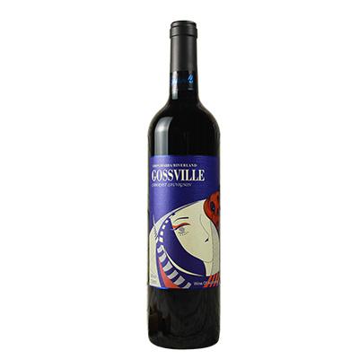 澳大利亚库纳瓦拉赤霞珠高斯维尔干红葡萄酒