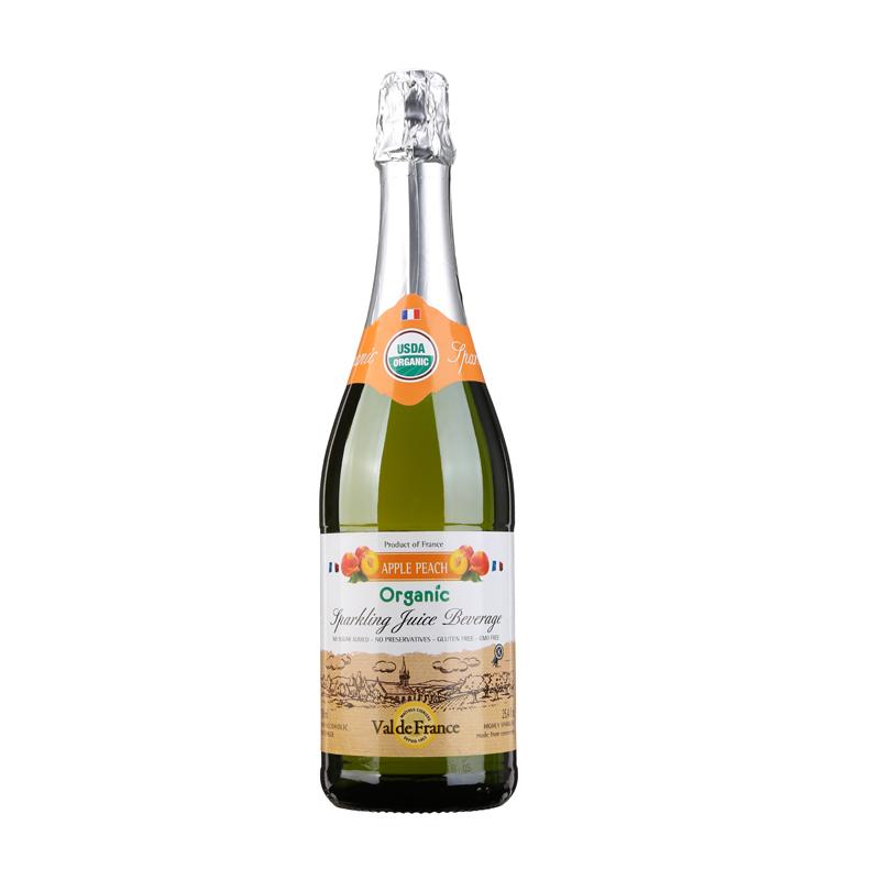 法国朗斯河畔普勒迪安产区沃迪安酒庄蜜桃起泡果汁