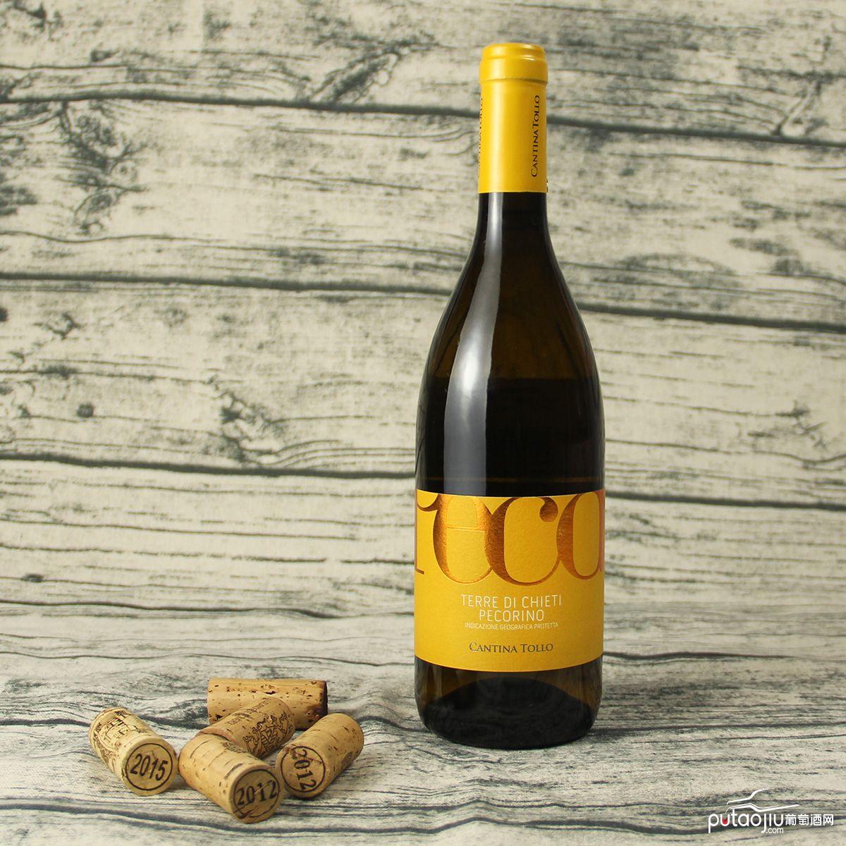 意大利基耶蒂CANTINA TOLLO帕高里奥IGP干白葡萄酒