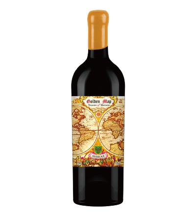 黄金地图•墨卡托宝藏红葡萄酒