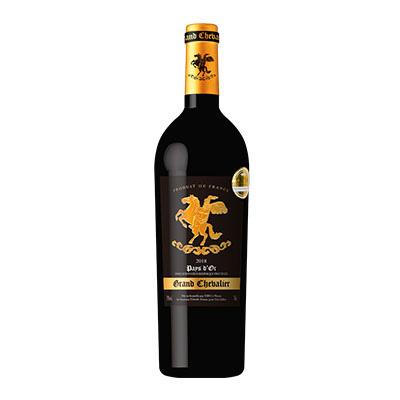 大骑士皇家红葡萄酒2018