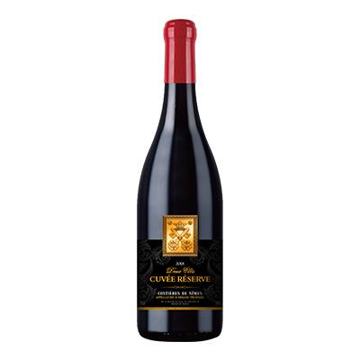两把钥匙·黑牌珍藏红葡萄酒2018