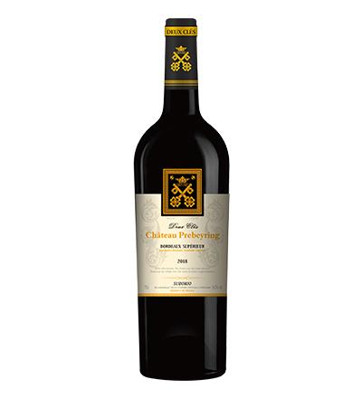 两把钥匙·超波红葡萄酒2018