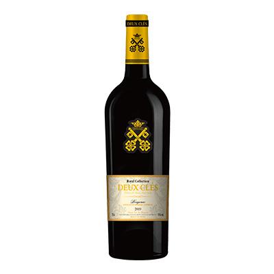 两把钥匙精选红葡萄酒2019