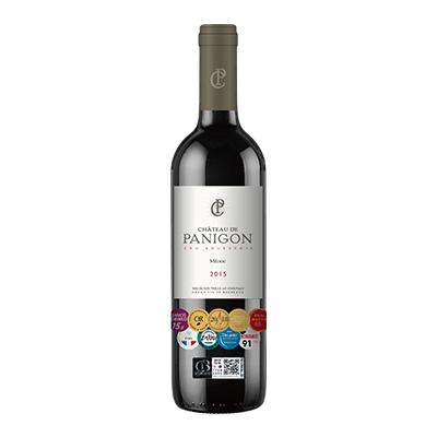 柏尼宫城堡红葡萄酒2015