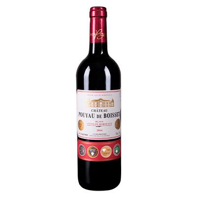 百鸥城堡红葡萄酒